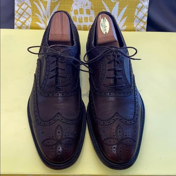 Louis Vuitton Lace Up Wing Tip Shoe